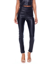 Fashion Lab - Faux Leather Pants-2456486