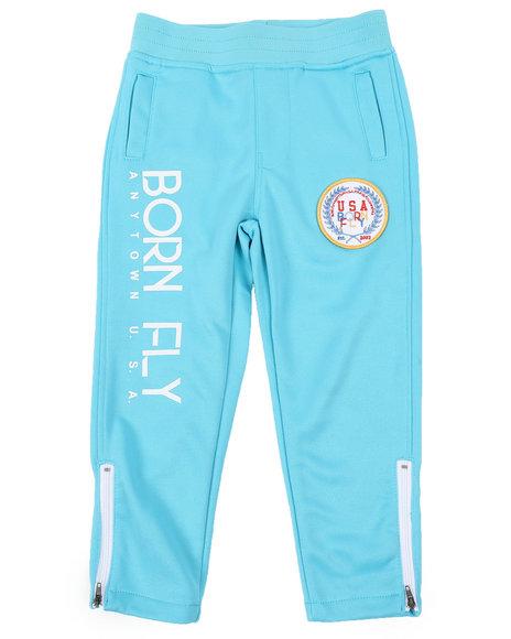 Born Fly - Poly Interlock Track Pants (4-7)