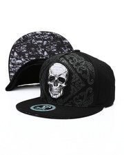 Buyers Picks - Skull Bandana Snapback Hat-2459740