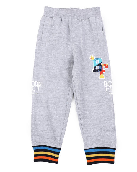 Born Fly - 280 GSM Cotton Loopback Sweatpants (4-7)