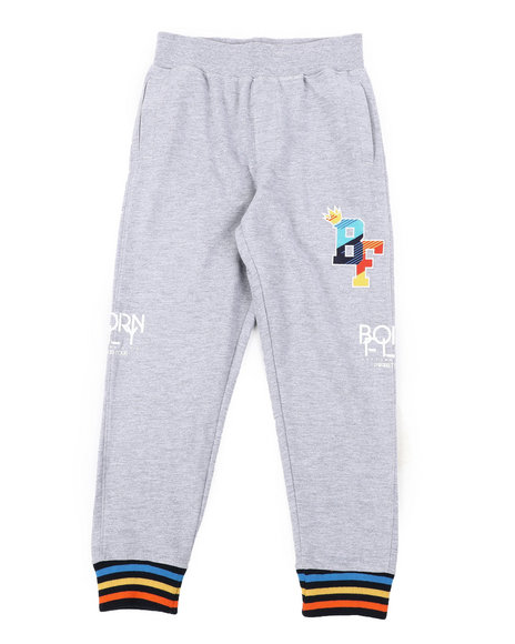 Born Fly - 280 GSM Cotton Loopback Sweatpants (8-20)