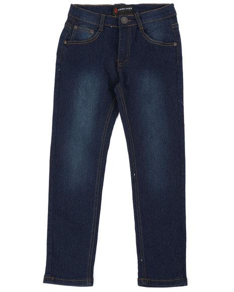 Arcade Styles - Washed Jeans W/ Stretch (8-18)