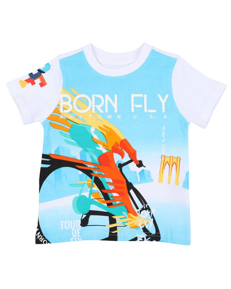 Born Fly - 180 GSM Cotton Tee (2T-4T)