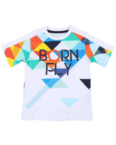 Born Fly - 180 GSM Cotton Tee (4-7)