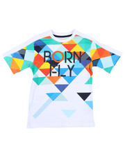 Born Fly - 180 GSM Cotton Tee (8-20)-2459605
