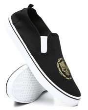 Buyers Picks - Vulc Black Panther Slip-On Sneakers-2460262