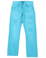 Jeans - Washed Blue Jeans (8-20)-2459770