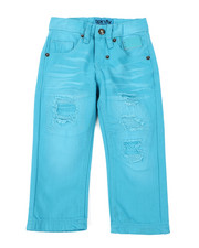 Sizes 2T-4T - Toddler - Washed Blue Jeans (2T-4T)-2459766