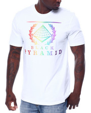 Black Pyramid - BP Crest Rainbow Tee-2460152