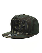 Buyers Picks - USA Camo Snapback Hat-2459171