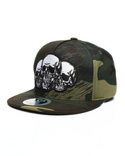 Buyers Picks - Skull Snapback Hat-2459176