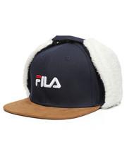 Wool Blend Suede Brim Hat W/Ear Flaps