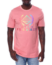 Black Pyramid - BP Crest Rainbow Tee-2460132
