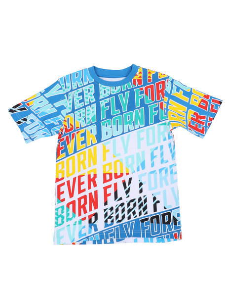 Born Fly - 180 GSM Cotton Tee (8-20)