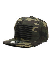 Buyers Picks - USA Flag Camo Snapback Hat-2459164
