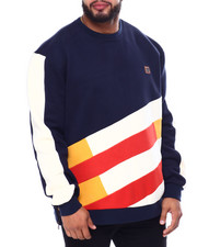 Makobi - Makobi Color Block Fleece Sweatshirt (B&T)-2460421