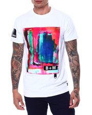 Buyers Picks - Abstract Watercolor Tee w D Ring Detail-2460677