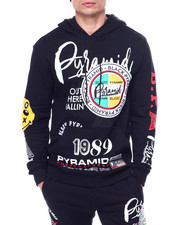 Black Pyramid - World Famous Logo Hoody-2460816