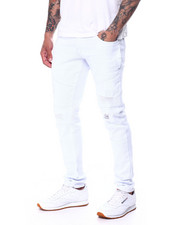 Jeans & Pants - Distressed Side Pocket Twill Pant-2460595