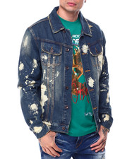 AKOO - wildling Hunt Club denim jacket-2460738