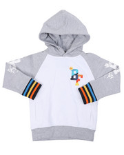 Born Fly - 280 GSM CTTN Loopback Hoodie (4-7)-2459445