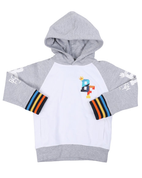 Born Fly - 280 GSM CTTN Loopback Hoodie (4-7)
