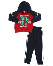 Sizes 4-7x - Kids - Fleece Hoodie & Jogger Pants Set (4-7)-2459792