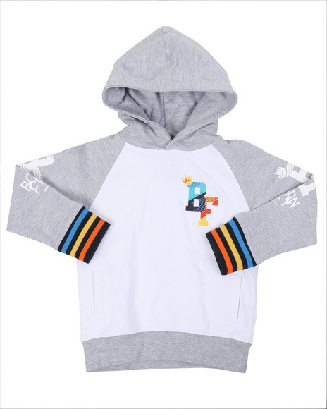Born Fly - 280 GSM CTTN Loopback Hoodie (8-20)