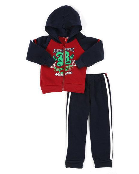 Arcade Styles - Fleece Hoodie & Jogger Pants Set (2T-4T)