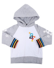 Sizes 2T-4T - Toddler - 280 GSM CTTN Loopback Hoodie (2T-4T)-2459441