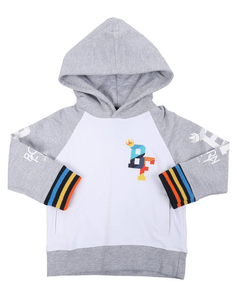 Born Fly - 280 GSM CTTN Loopback Hoodie (2T-4T)