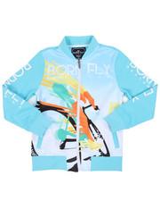 Boys - Poly Interlock Track Jacket (8-20)-2459465