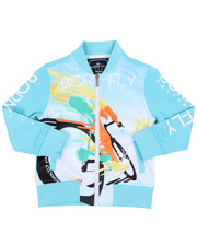 Sizes 4-7x - Kids - Poly Interlock Track Jacket (4-7)-2459460