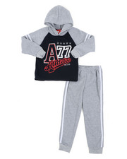 Sizes 4-7x - Kids - Fleece Hoodie & Jogger Pants Set (4-6X)-2460382