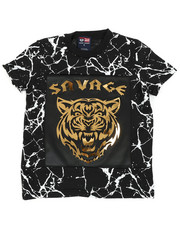 Sizes 4-7x - Kids - Savage Mirror Foil Patch Tee (4-7)-2460367