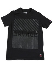 Phat Farm - Crew Tee W/ Stud Faux Leather Patch (8-18)-2459851