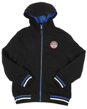 Hoodies - Fleece Lined Full Zip Hoodie (8-20)-2459436