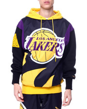 Black Pyramid - BP X PRO Standard Los Angeles Lakers Logo Hoody-2461074