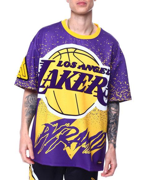 Black Pyramid - BP X PRO Standard Los Angeles Lakers Logo Shirt