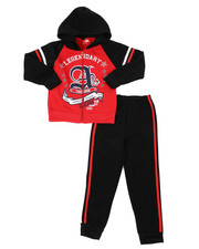 Sizes 4-7x - Kids - Fleece Hoodie & Jogger Pants Set (4-7)-2460377