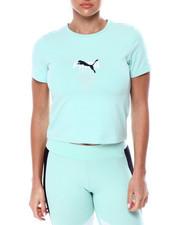 Athleisure for Women - TFS Graphic Crop Top-2461763