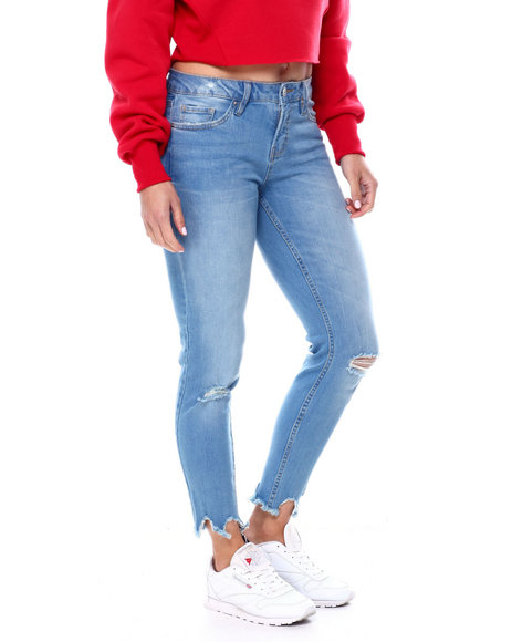 YMI Jeans - High Waisted Stretch 5 Pocket Skinny Jean