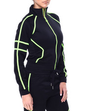 Outerwear - Tricot Track Jacket W/Tape Trim-2461452
