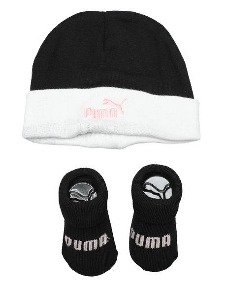 Puma - 2 Piece Hat & Bootie Set (Infant)
