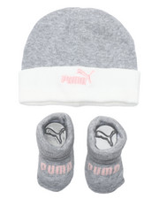 Girls - 2 Piece Hat & Bootie Set (Infant)-2460078