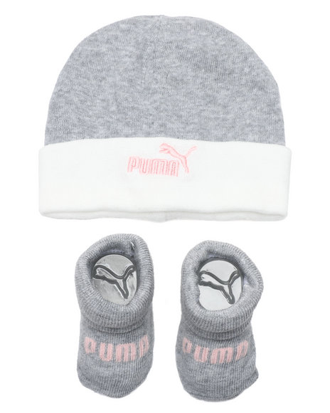 Puma - 2 Piece Hat & Bootie Set (Infant)