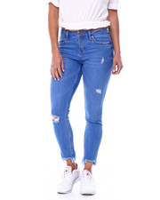YMI Jeans - High Waisted Stretch 5 Pocket Skinny Jean-2461416