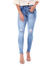 Jeans - High Waisted Stretch 5 Pocket Skinny Jean-2461631