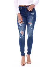 YMI Jeans - High Waisted Stretch 5 Pocket Skinny Jean-2461432