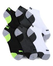 Puma - 6 Pack 1/2 Terry Low Cut Socks-2460074